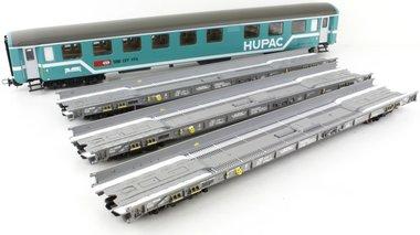 HUPAC 4-delige set Rollende Landstrasse