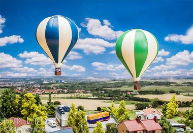 Faller Actieset 2 heteluchtballons