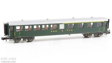 SBB 1e/2e klas personen rijtuig Type AB