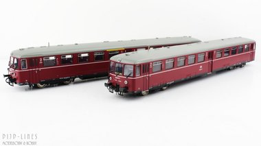 DB Accutrein BR 515. Motorwagen met stuurwagen DC analoog