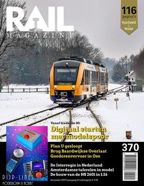 Rail Magazine 370. December 2019