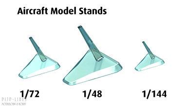 Modelvliegtuig stand 3 stuks