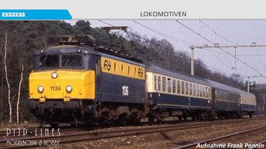 NS Elektrische locomotief 1100 met botsneus