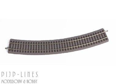 PIKO A-Gleis met bedding Gebogen rails R4