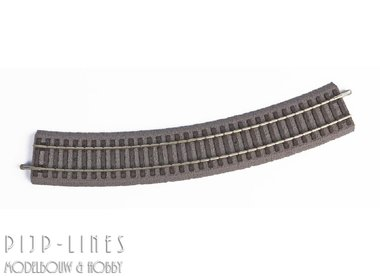 PIKO A-Gleis met bedding Gebogen rails R3