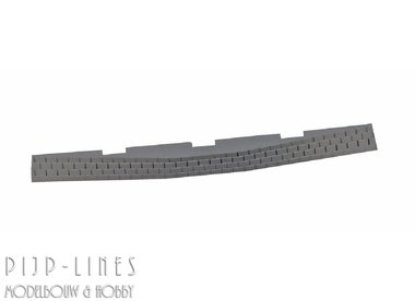 PIKO A-Gleis Ballast-behuizing voor wisselaandrijving, wissels links/rechts