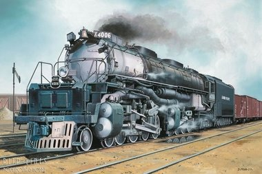 Big Boy Locomotive