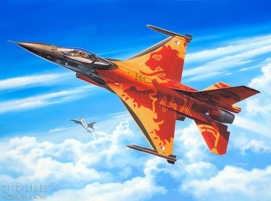 F-16 Mlu Solo Display 'Nederlands F-16 demoteam'