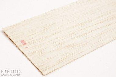 Balsa hout plank 1mm