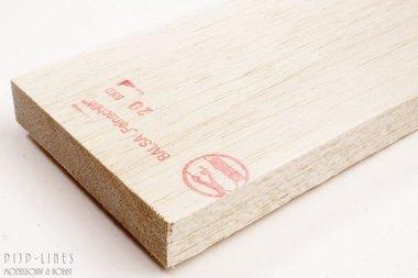 Balsa hout plank 20mm
