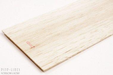 Balsa hout plank 2mm