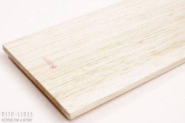 Balsa hout plank 6mm