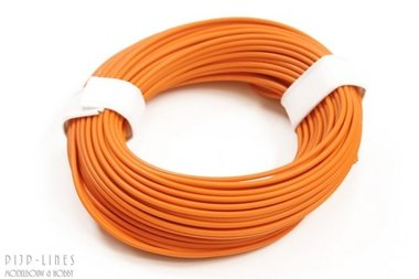 Draad Oranje 10 meter 0,14qmm