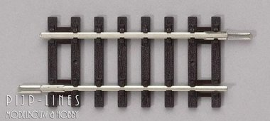 Overgangs rails 62mm