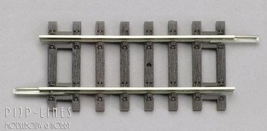 Rechte rails 107mm