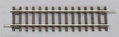 Rechte rails 115mm
