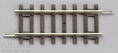 Rechte rails 62mm