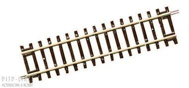 Line diagonaal rechte rail DG1 119mm