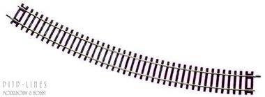 Roco-Line gebogen rails R6 30°