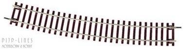 Roco-Line gebogen rails R9 15°