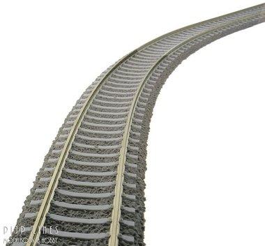 Flexibele rails  800mm 'Beton bielzen'
