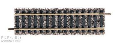 Halve standaard rechte rail. 105mm