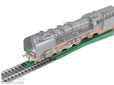 Rail geleider voor treinen