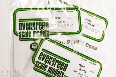 Transparante sheets 0,25mm (2 stuks)