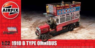 London bus 1910 B type Omnibus
