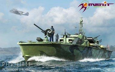 U.S. Navy Elco 80'Motor patrol torpedo boat late type