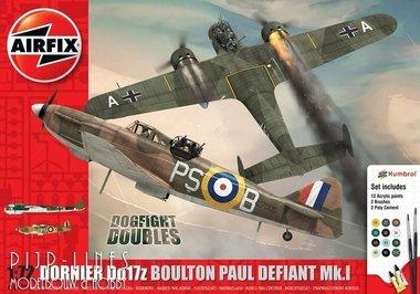 Dornier Do17z & Boulton Paul Defian Mk.I