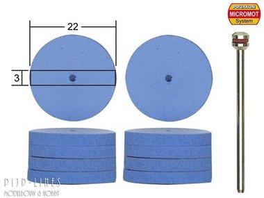 Elastische siliconen polijststenen