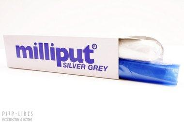 Milliput zilver grijs