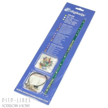 LED licht strip geel (compleet set)