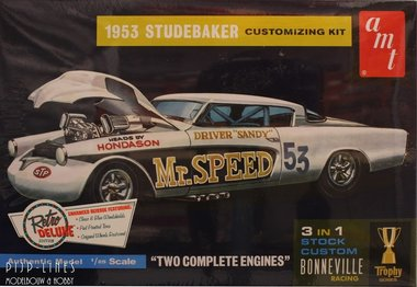 1953 Studebaker Customizing kit Mr.Speed 53