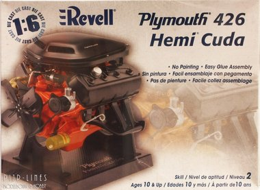 Plymouth 426 Hemi Cuda 1:6