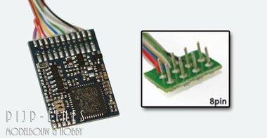 LokPilot V4.0 Multiprotocol decoder MM/DCC/SX/M4 NEM652 8-polig