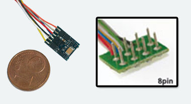 Lokpilot micro V4.0 MM/DCC/SX NEM652 8-polig