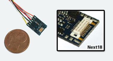 Lokpilot micro V4.0 DCC decoder Next18