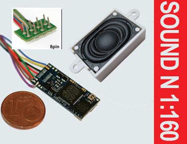 Loksound micro V4.0  (NEM652 8 polig)