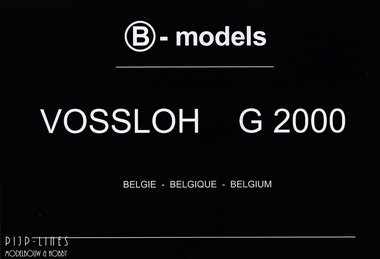 B-models G2000 fotoboek