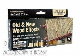 Old & New Wood Effects