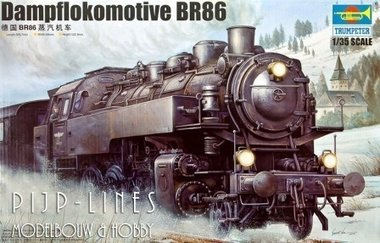 Stoomlocomotief BR86