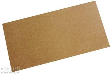 MDF Plaat 1.5 mm dik, 25 cm x 50 cm