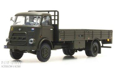 DAF open bak met huif Nederlands leger, cabine '64.