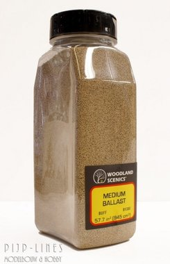 Woodland Scenics Medium Ballast Shaker Buff