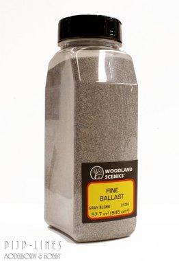 Woodland Scenics Fine Ballast Shaker Gray Blend