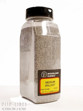 Woodland Scenics Medium Ballast Shaker Gray Blend