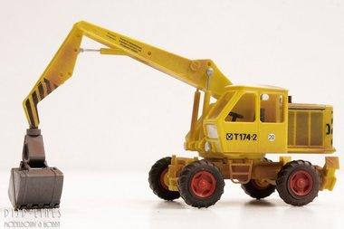 Mobile bagger T174-2 geel (verweerd)