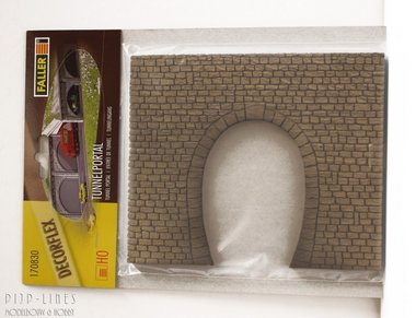 Tunnelportaal Enkelsporig
